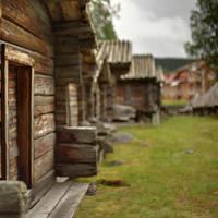 Arvidsjaur - Sami kerkdorpje