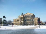 Dresden in de winter