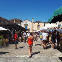 Markt in Monpazier