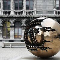 Kunstwerk Trinity College Dublin