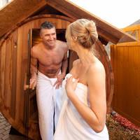 Buiten-sauna
