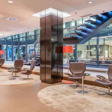Lobby Eurostars Budapest Center