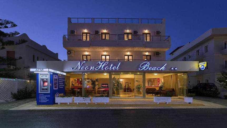 Neon Beach Hotel - Entree Hotel Neon Beach