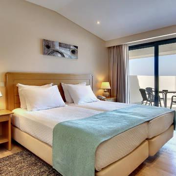 Voorbeeld slaapkamer Hotel Alba