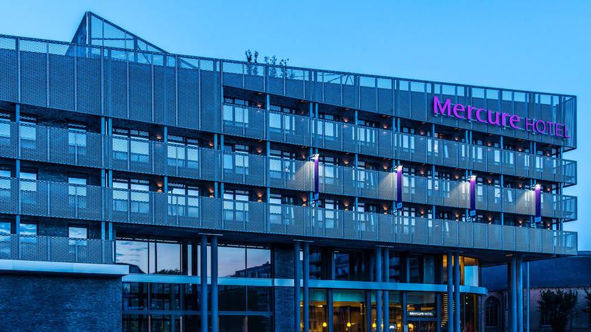 Buitenaanzicht Hotel Mercure Blankenberge