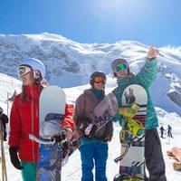 Op wintersport in het Saasdal