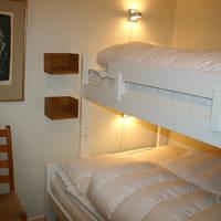 Slaapkamer met (familie) stapelbed