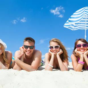 Strand jongeren