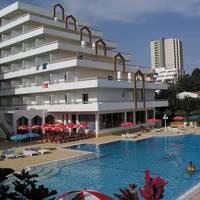 hotel en zwembad