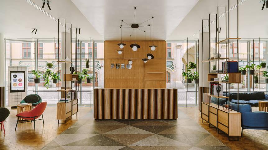 Lobby Hotel PURO Wroclaw Stare Miastro