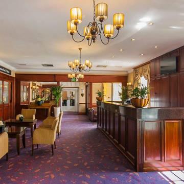 Receptie Hotel Cassidys