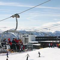 Exterieur met skilift