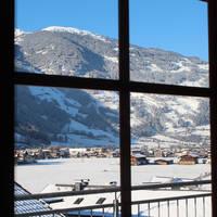 Uitzicht Zillertal venster
