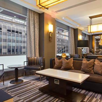Lounge Hotel New York Hilton Midtown
