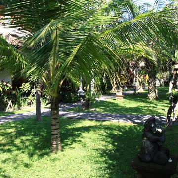 Tropische tuin Vila Shanti