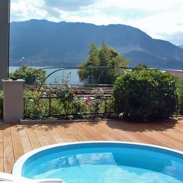 Kleine zwembad Residence Tre Ponti