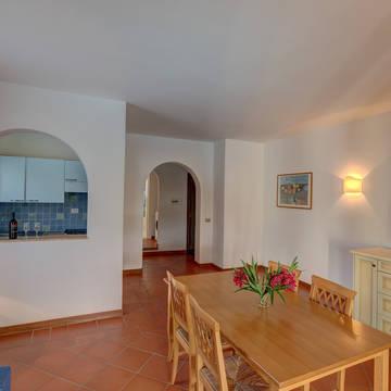 Voorbeeld woonkamer 2-kamerappartement Villa 4 IN Sea Villas