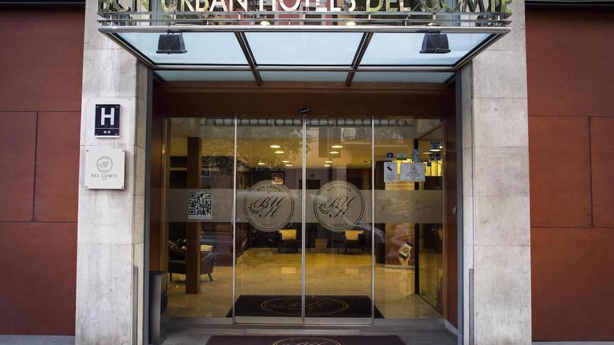Entree Hotel BCN Urban del Comte