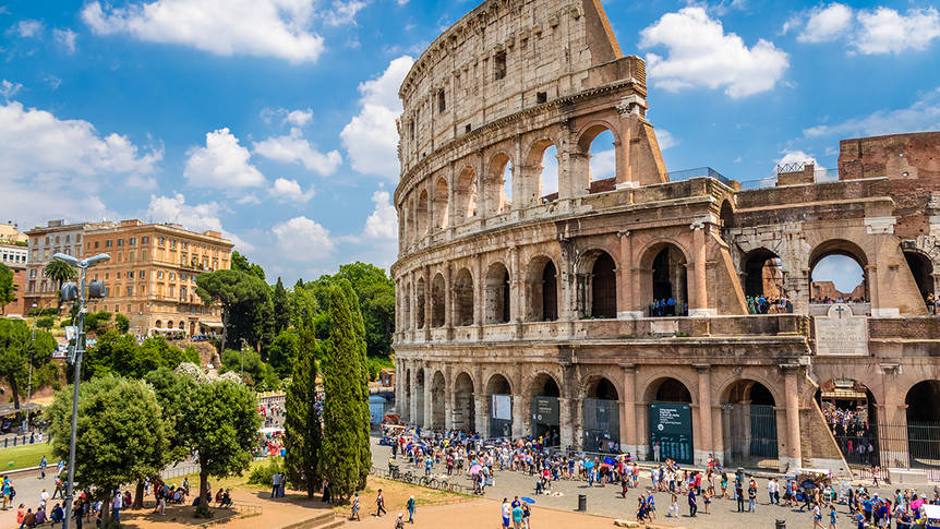 Colosseum omgeving Hotel Best Roma