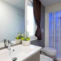 Voorbeeld badkamer stacaravan