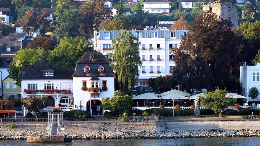Voorzijde Hotel Ebertor
