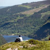 Glendalough Uitzicht
