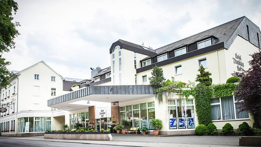 Voorzijde  Hotel Deutscher Hof