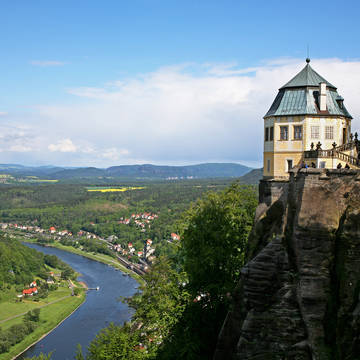 Festung Königstein - Sächsische Schweiz Panoramahotel Lilienstein