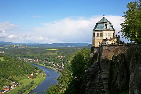 Last minute autovakantie Sachsen 🚗️Panoramahotel Lilienstein