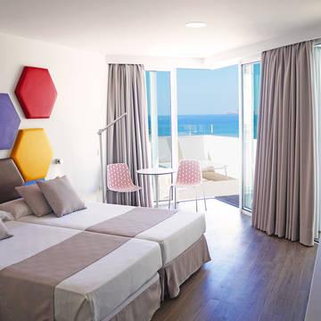 Kamervoorbeeld Hotel Troya