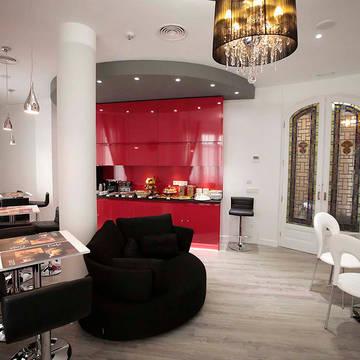 Ontbijtruimte Hostal Vitium Urban Suites