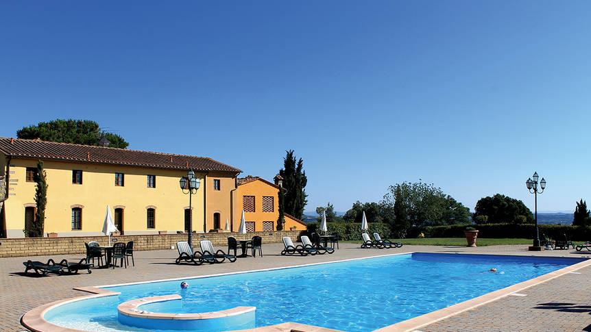 Zwembad1 Appartementen Il Borgo di Montereggi