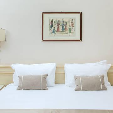 Voorbeeldkamer Classic 2 Hotel Ercolini & Savi