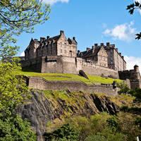 Edinburgh Castle, op ca. 15 minuten loopafstand van het hotel!