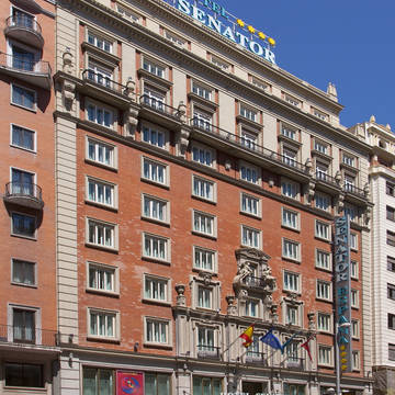 Buitenkant Hotel Senator Gran Via 70 Spa