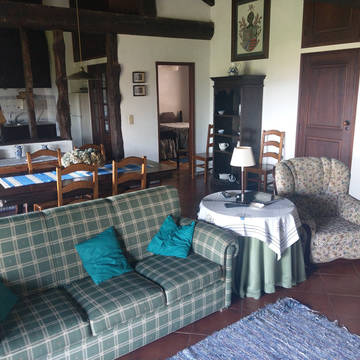Voorbeeld woonkamer Quinta Paço d'Anha