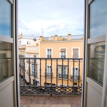 Balkon Hotel Petit Palace Santa Cruz