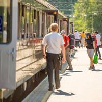 Flåmsbanen - Fotograaf: Sverre Hjørnevik