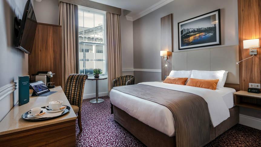 Slaapkamer Hotel Cassidys