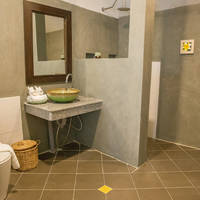 Voorbeeld badkamer Deluxe Garden Villa