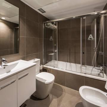 Badkamer Appartementen Mon Suites Catedral