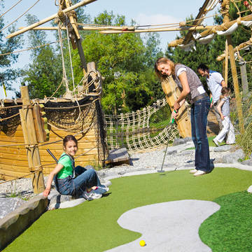 Midgetgolf Vakantiepark Center Parcs Port Zélande