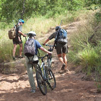 Mountainbike safari