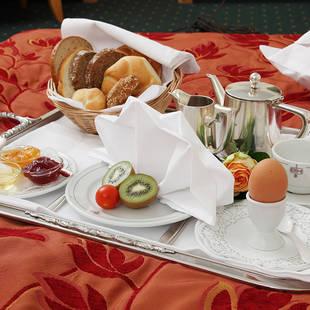 Luxe ontbijt op bed