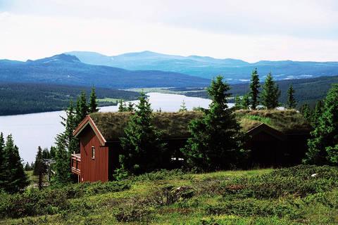 Last minute autovakantie Midden-Noorwegen 🚗️Gålå Hytter Vakantiepark