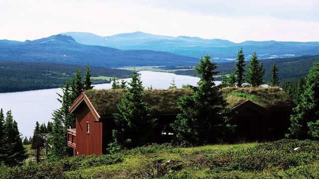 Exterieur type Grend Gålå Hytter Vakantiepark