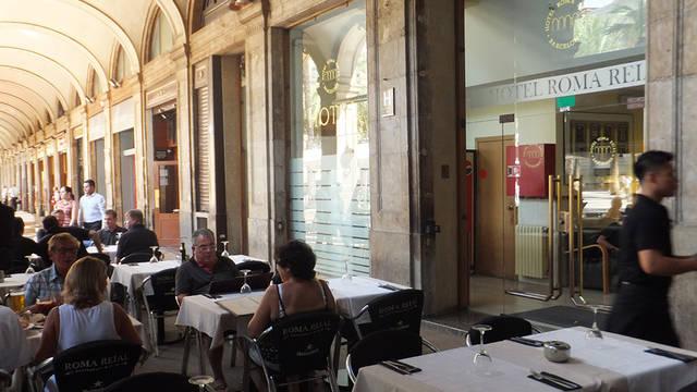 Terras Hotel Roma Reial