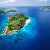 Felicite  & Sisters Island - Seychellen