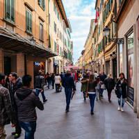 Corso Italia op ca. 5 minuten wandelen
