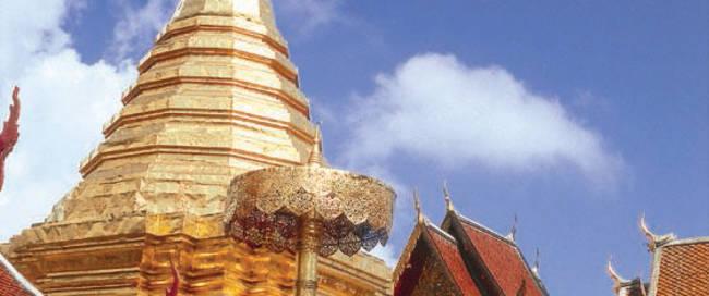 Chiang Mai - tempelcomplex